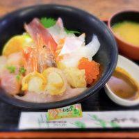 遠賀郡芦屋町のとと市場の海鮮丼 新鮮魚介たっぷりで大満足!次回は漬け丼ワンコイン!