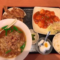 中間市通谷電停近くの中華料理 福源 中間店でボリュームのある定食と選べるラーメンが人気!