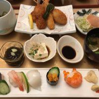 黒崎井筒屋のレストラン街 寿司 和食 たちばなで御膳のランチ