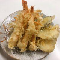 小倉京町の地下天こと天ぷら定食ふじしまでランチ!美味しいてんぷらはここ!